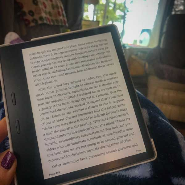 kindle in rv