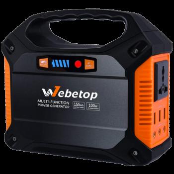 Webetop 155Wh 42000mAh Portable Power Rechargeable Inverter Battery Generator