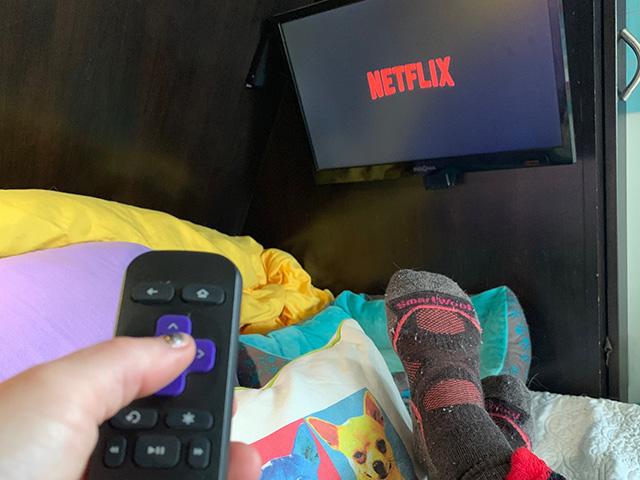 streaming TV in RV