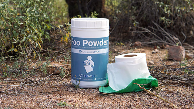 poo powder