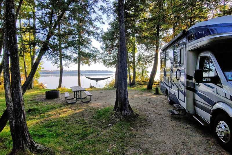 Lake Margrethe State Forest Campground